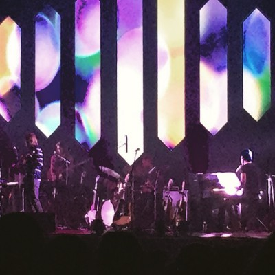 Sufjan Stevens at the Palace Theater in Albany. Photo by the author.