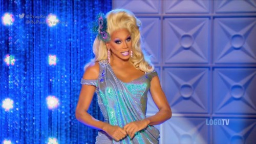 RuPaul dishes dish and good advice.