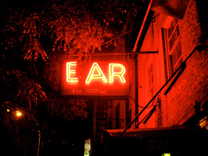 The Ear Inn, Spring Street, NYC.