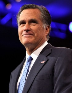 Mitt, enough to make you believe in the end of the world.