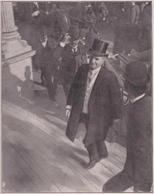 Last known photo of McKinley before the assassination.