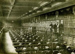 Medical School Library in Paris.