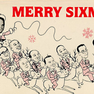 Original Merry Sixmas artwork by David Greenberger