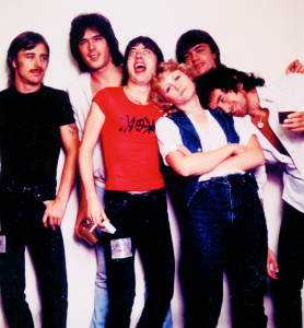 ACDC and author August 1979