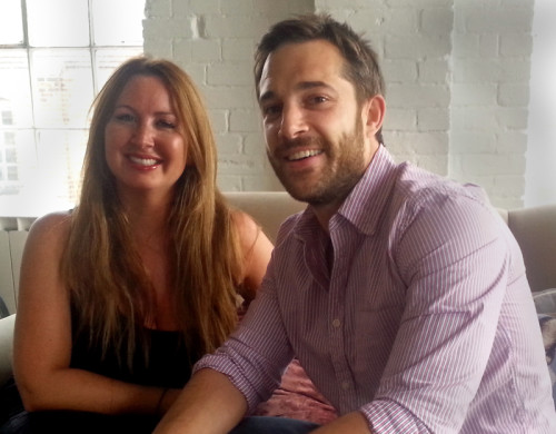 Adam and Julia of Hot Octopuss hide their impish ways with innocent smiles.
