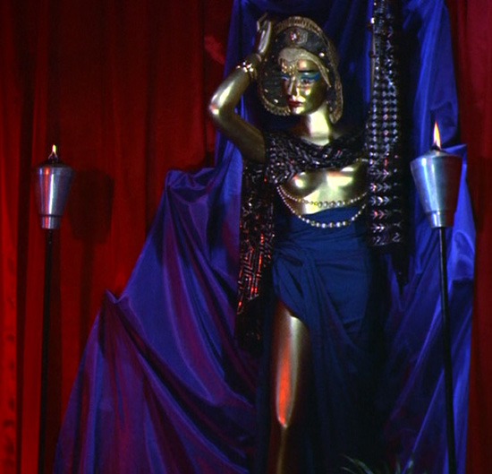 "Ishtar... mannequin... whatever. The ""goddess"" awaits her BLOOD FEAST."