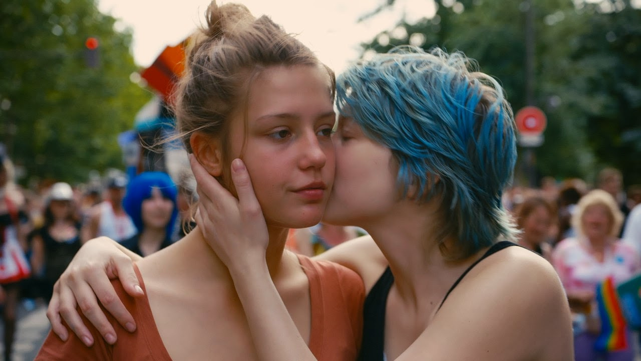Still from Blue is the Warmest Color