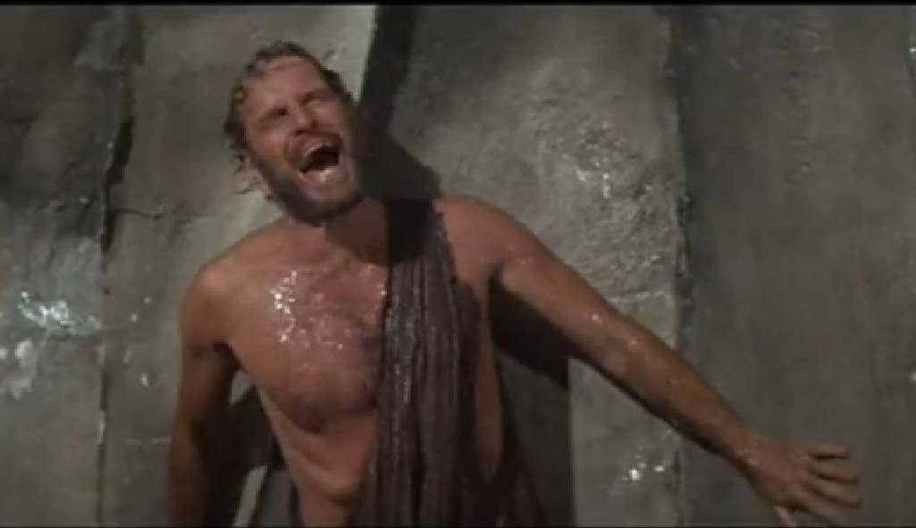 """It's a MADHOUSE!!!!"" Charlton Heston gets it all figured out in PLANET OF THE APES."