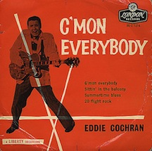 "Eddie+Cochran+-+C'Mon+Everybody+EP+-+Tricentre+-+7""+RECORD-366598"