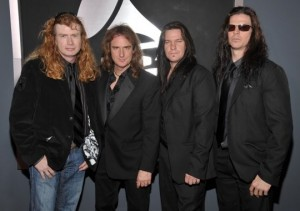 Megadeth make another trip to the Grammys