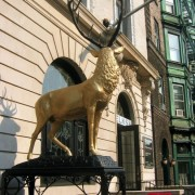 The Elk for the Elks Club in Hoboken.