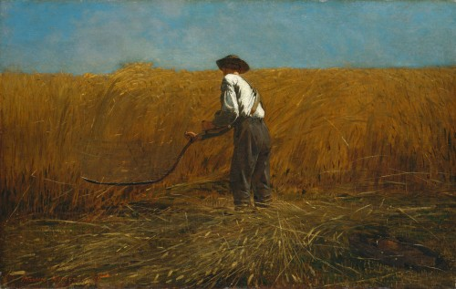 Winslow Homer The Veteran in a New Field, 1865 oil on canvas 24 1/8 x 38 1/8 in. The Metropolitan Museum of Art, New York, NY, Bequest of Miss Adelaide Milton de Groot (1876-1967), 1967, 67.187.131 Image: © The Metropolitan Museum of Art, New York