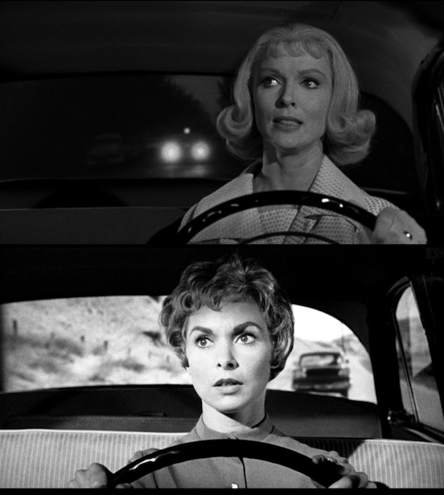 Jean Arless (top) and Janet Leigh.