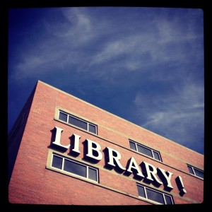 It really does says Library!