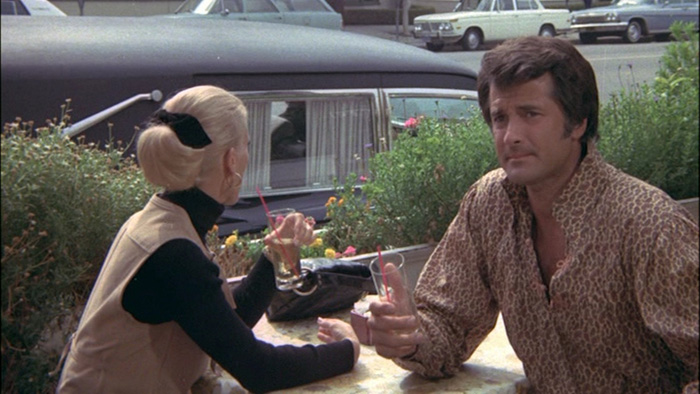 Mary Wilcox pines away in LOVE ME DEADLY (with Lyle Waggoner.)