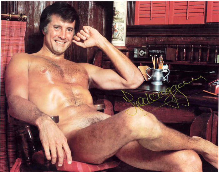 Lyle Waggoner naked. Just because.