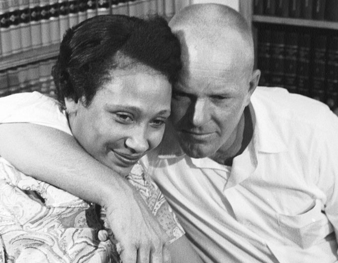 Mildred and Richard Loving in 1967.