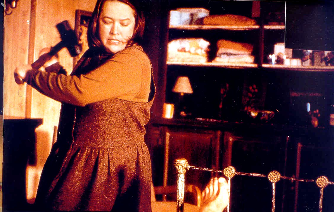 Annie wilkes kathy bates drives her point home