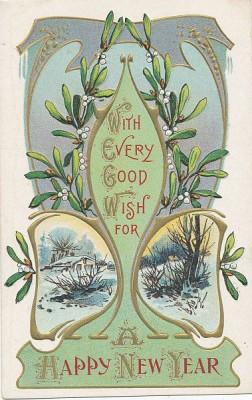 Mistletoe_Postcard_1900