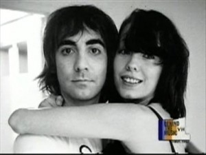 Pamela and Keith Moon