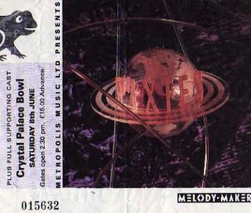 Pixies ticket