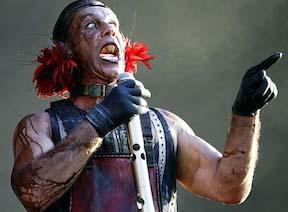 German industrial metal band Rammstein.