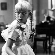 Patty McCormack as THE BAD SEED