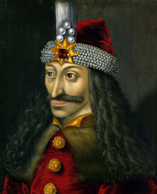 Vlad III Draculea, the Wallachian prince on whom Stoker's vampire was reportedly based.