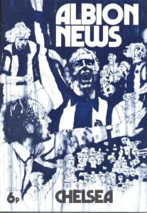 West Brom Albion, quintessential style and good graphic design ca. 1972.