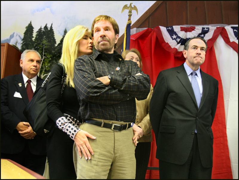 Chuck Norris was right about Huckabee in Iowa too. If Walker says it, you better believe.