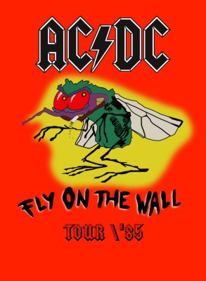AC/DC Fly on the Wall Tour