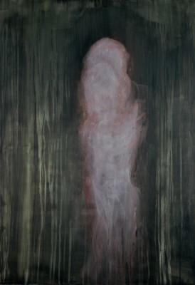 "Astrid Cravens, Phantoms, 2009. Oil on panel, 32"" x 36"", courtesy of the artist"