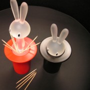 The Alessi Magic Bunny Toothpick Holder.