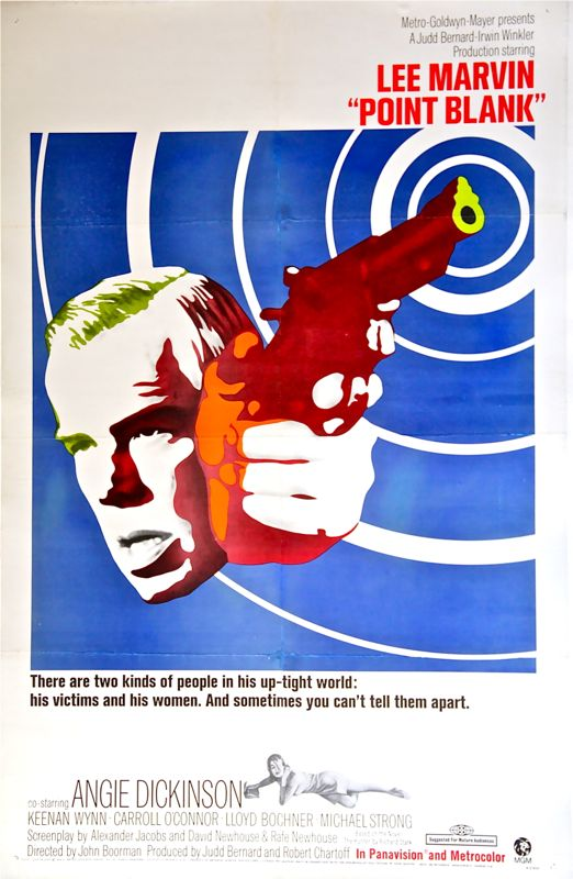 Point Blank (linen-backed) One Sheet