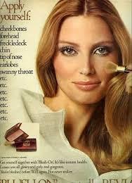 1970s beauty ad
