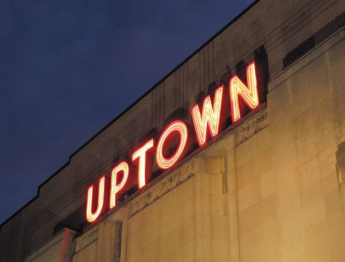 The Uptown Theater in DC. Photo: Ghosts of DC.