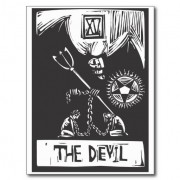 Devil Tarot by xochicalco.