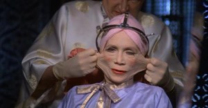 Elastic face courtesy of Terry Gilliam's film Brazil.