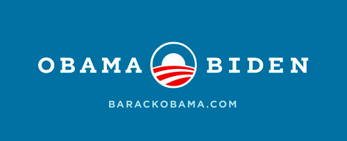 Obama Biden Typography