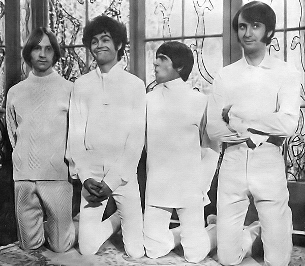The Monkees promoting Head in 1968