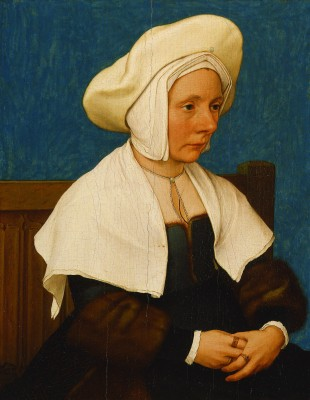 A Woman, Hans Holbein the Younger, 1532/1534, tempera and oil on oak panel, Detroit Institute of Arts.
