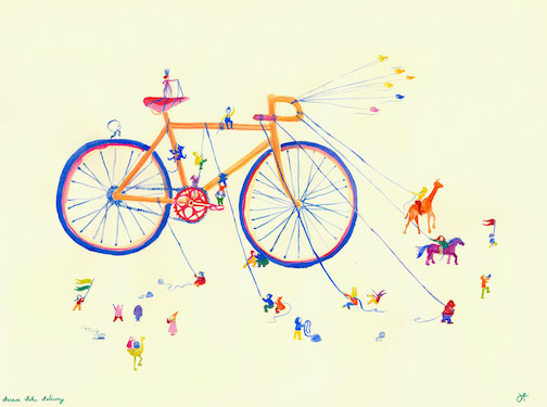 jessica-findley-art-dream-bike-delivery