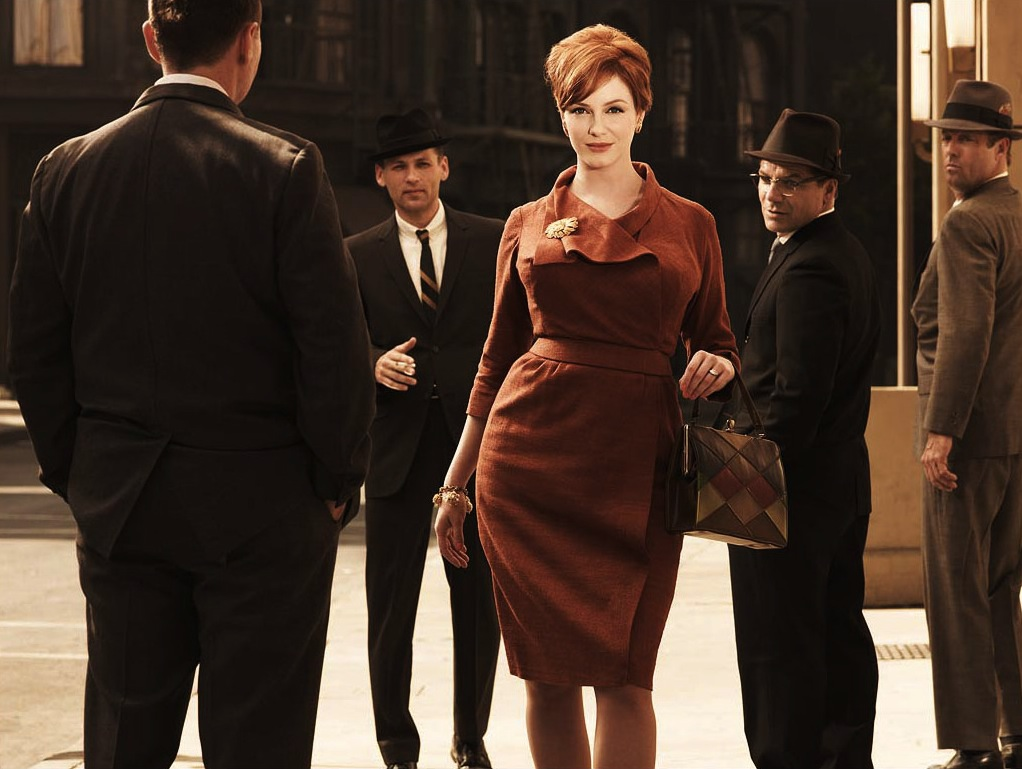 Joan Holloway (Christina Hendricks) in Mad Men