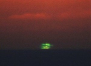 Eric Rohmer's Le Rayon Vert (The Green Ray), 2008 where it all ends in a flash of green over the sea.