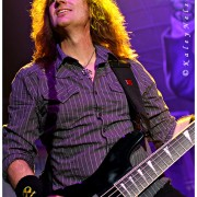 Dave live with Megadeth- Photo Credit, Kaley Nelson