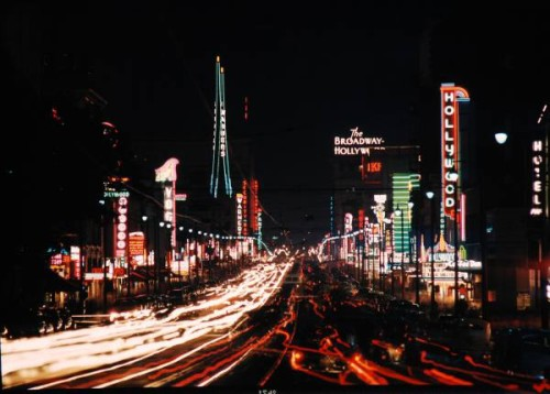Lights of LA. From the LIFE photo archive via Google.