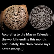 Not quite the alien-potato but the Mayan Oreo, image by Flickr user ArtJonak, published under Creative Commons.