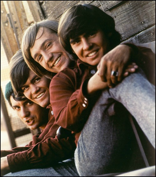 The Monkees, l. to r., Mike, Micky, Peter, Davey