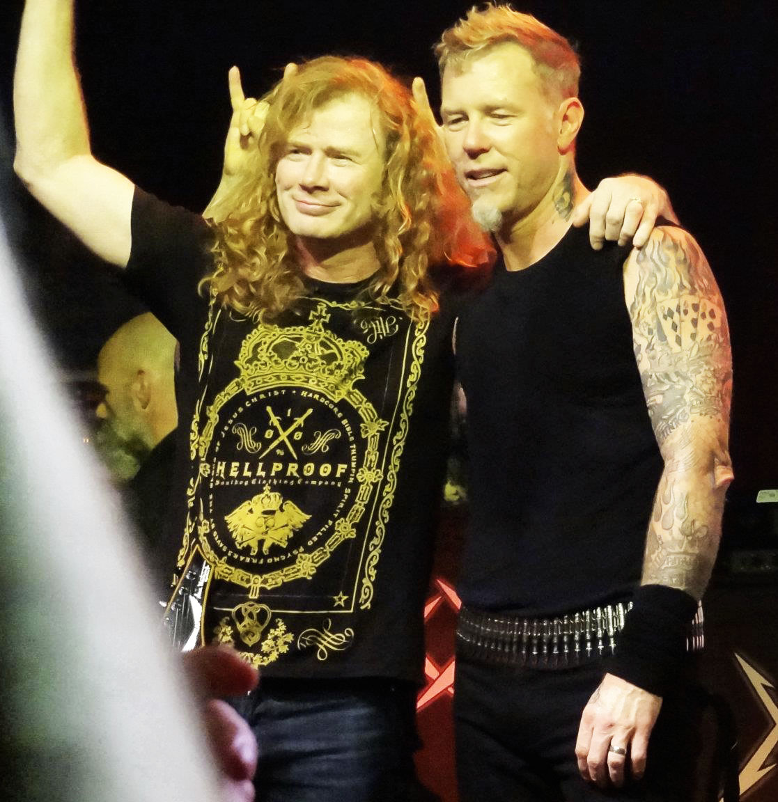 Dave Mustaine Metallica Reunion Metallica And Dave Mustaine