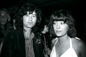 Pamela and Jimmy Page